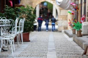 Street cafe in Byblos
