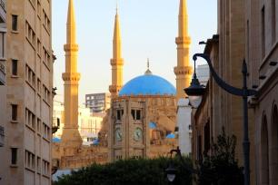 Hamidiyi Clock Tower and the Mohammad Al-Amin Mosque, Beirut © Carmen Andres